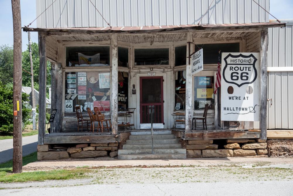 Route 66, Halltown MO