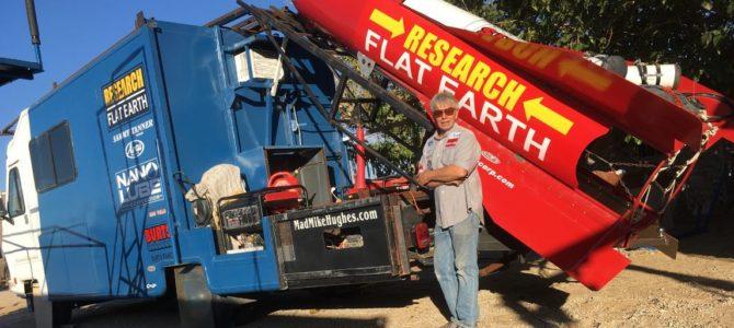Amboy CA: Flug mit selbst gebauter Rakete
