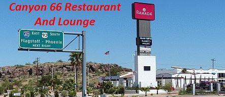 Kingman AZ: Canyon 66 Restaurant und Lounge geschlossen