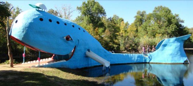 Catoosa OK: Blue Whale Vandalismus