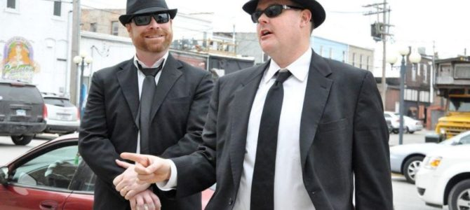 """""""Blues Brothers"""" machen """"Boxenstopp beim Route 66 Road Rally"""""""