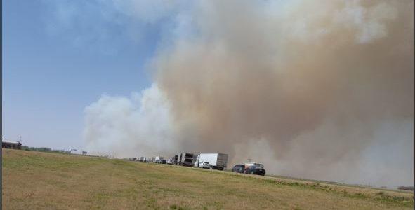 Shamrock TX: Grossflächenbrand