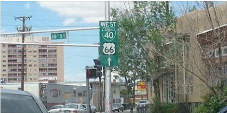 Albuquerque: Route 66 Schild verschwunden!