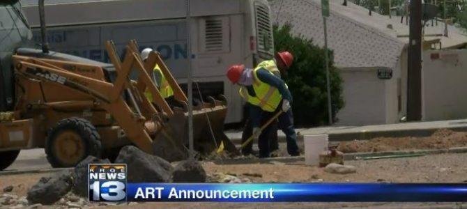 Albuquerque NM: Bauarbeiten am ART-Projekt beendet.