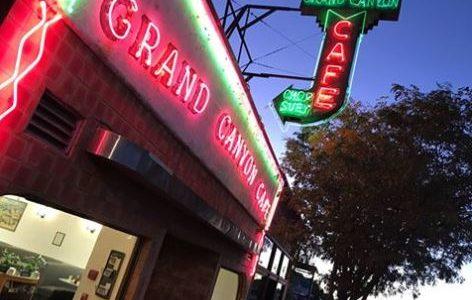 Flagstaff AZ: Grand Canyon Cafe überraschend geschlossen