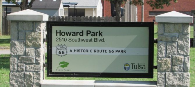 Tulsa: Howard Park on Historic Route 66