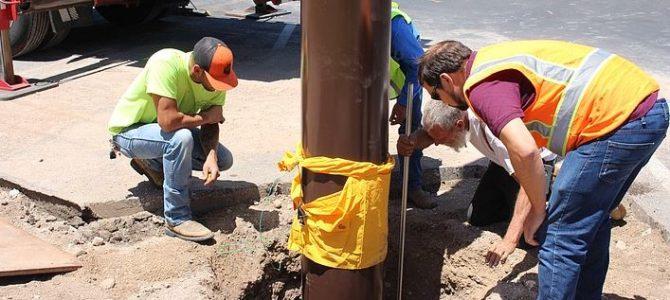 Kingman AZ: Torbogen an der Beale Street
