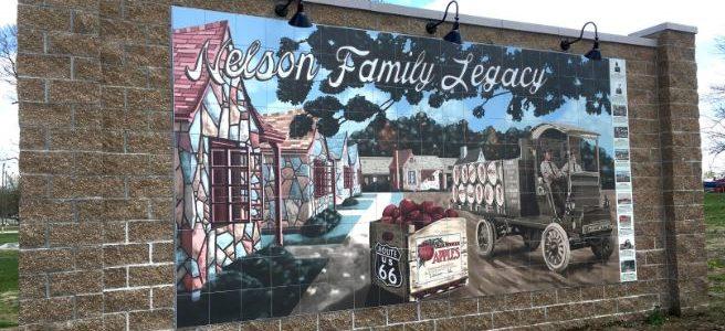 Lebanon MO: Neustes Mural
