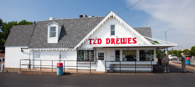 "St. Louis, MO: ""Ted Drewes Frozen Custard"""