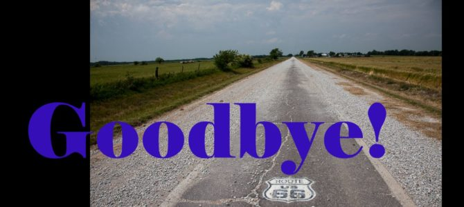 Goodbye Route 66
